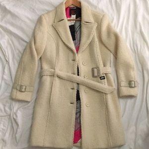Miss Sixty Jackets & Coats - Miss Sixty Luxury winter white coat